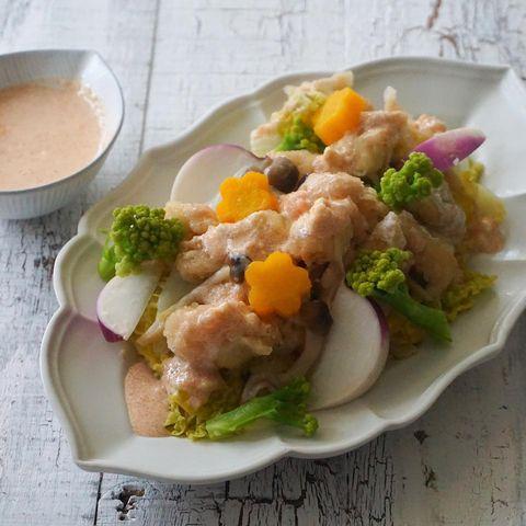 水晶鶏サラダ