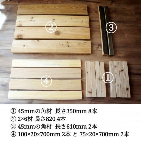 ローテーブルの作り方2