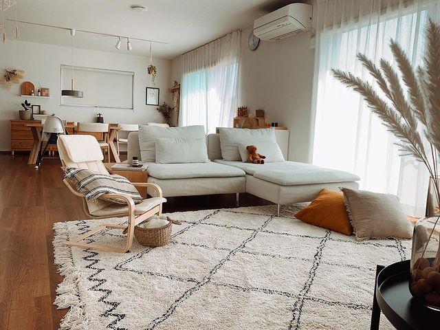 IKEAのおしゃれな部屋実例4