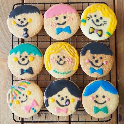 贈る相手の顔も作れる?簡単顔クッキーレシピ
