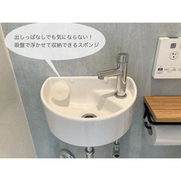 吸盤付き洗面スポンジ2