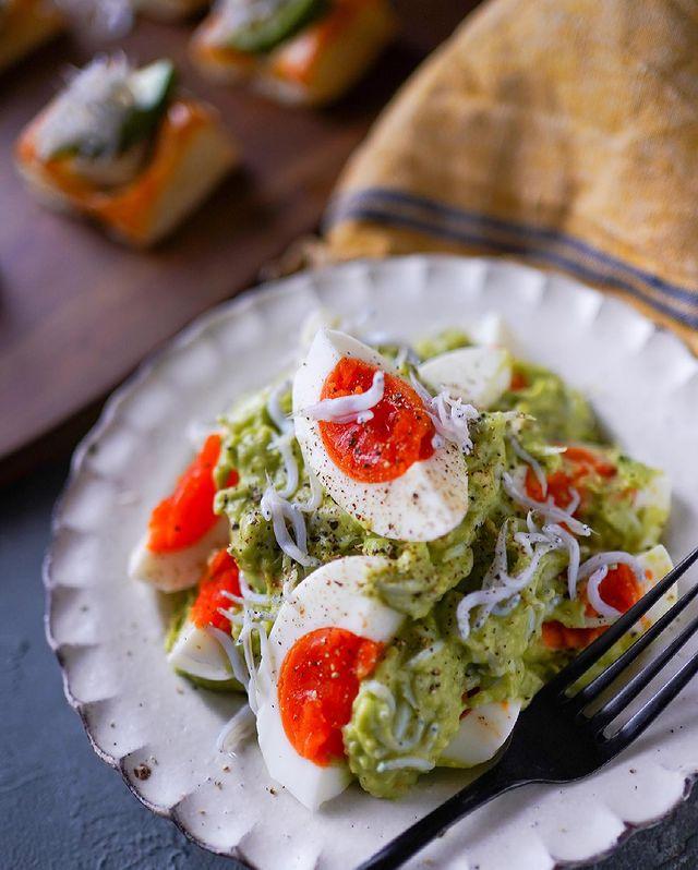 大人の卵サラダ