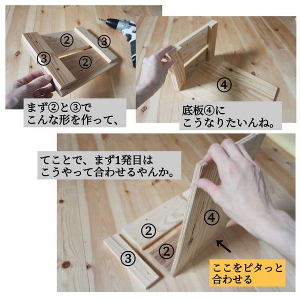 基本のボックスの作り方4