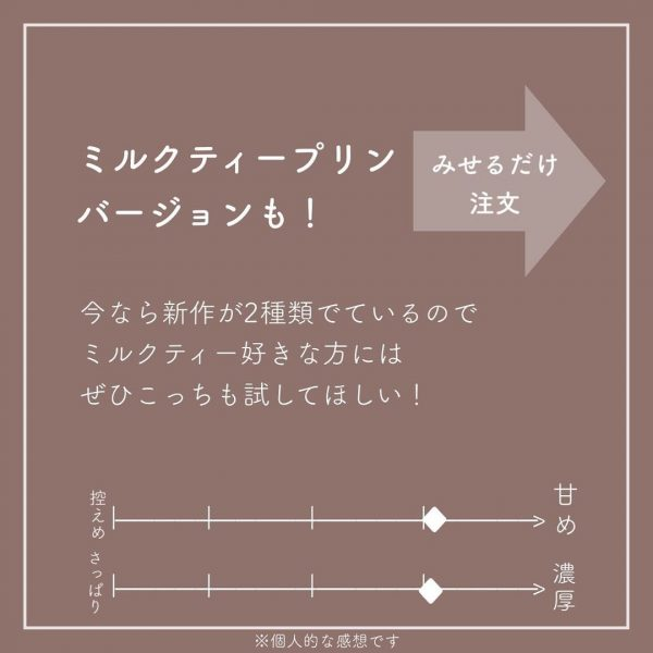 プリン風フラペチーノ4