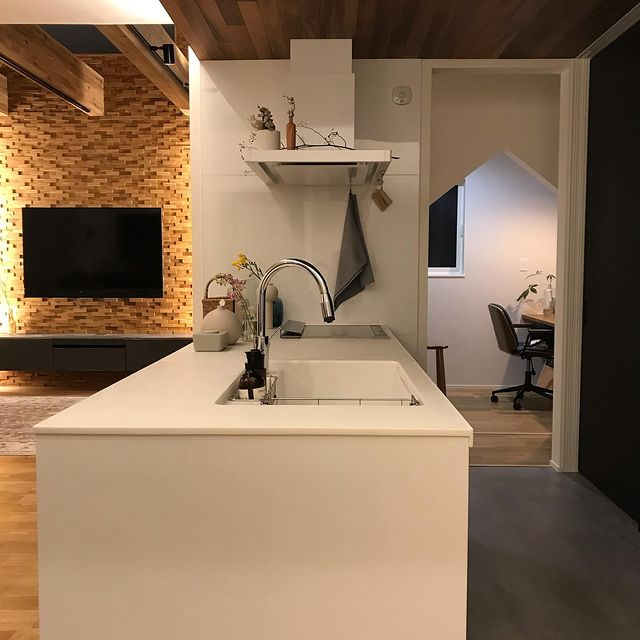 新築キッチン6