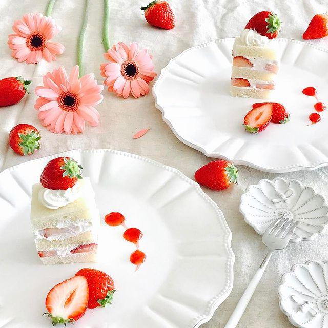 大変身♡ショートケーキ風いちごサンドレシピ