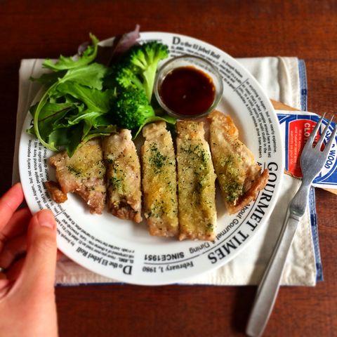 簡単♪豚のガーリック醤油パン粉焼きレシピ