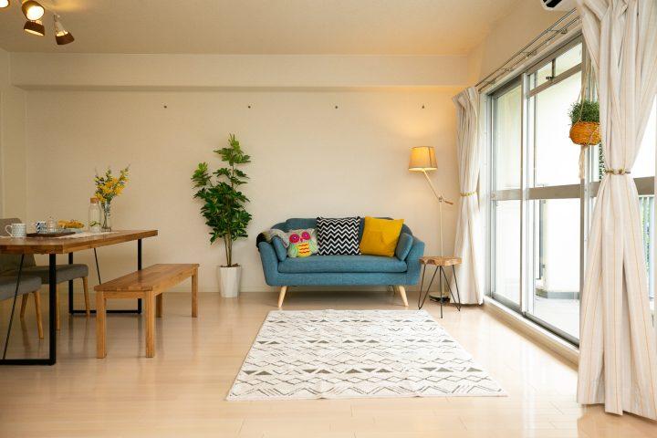 柄がおしゃれな北欧家具に合う人気ラグ