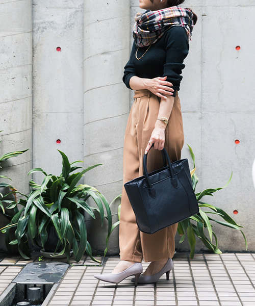 [welleg from outletshoes] 極上のふわっふわ美パンプス(スタック調 7cmヒール )3