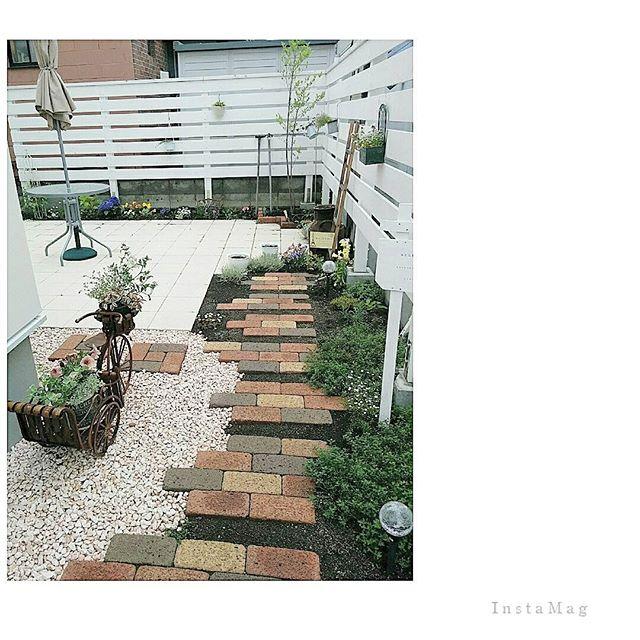 いっぱい楽しめる大人可愛い庭