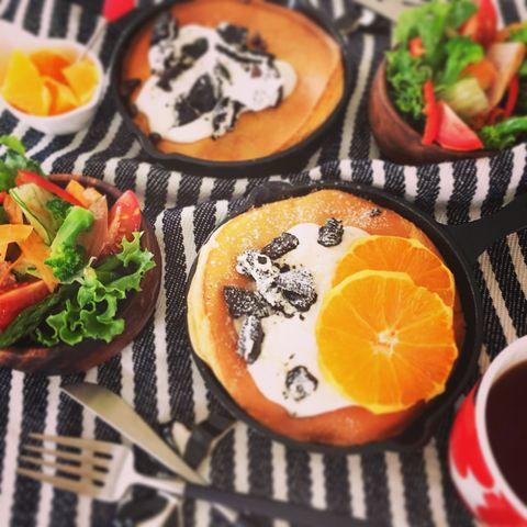 ホットケーキミックスのダッチベイビーレシピ