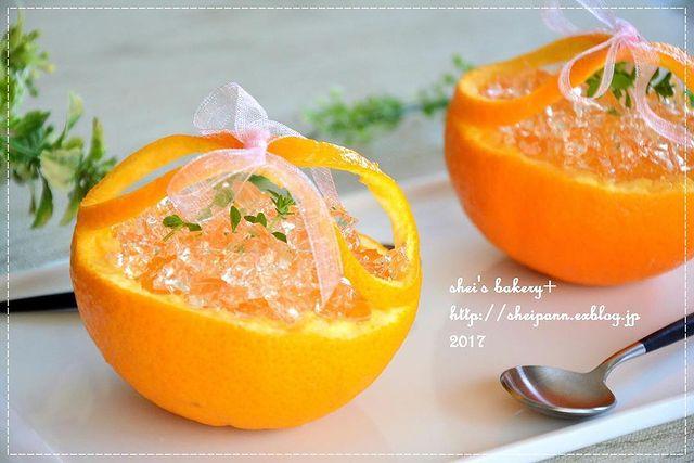器までオレンジ!爽やかオレンジゼリーレシピ