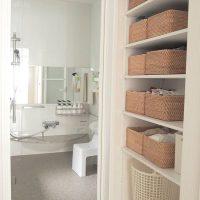 洗面所に下着を収納するアイデアまとめ。狭くても◎なおしゃれ×すっきり整理術