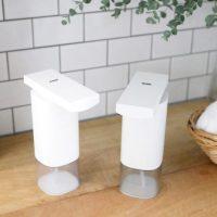 自動で便利な「オートディスペンサー」。安心の手洗い新習慣に!