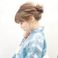 《ミディアム編》着物に似合う髪型アレンジ15選。自分でできるおしゃれヘア