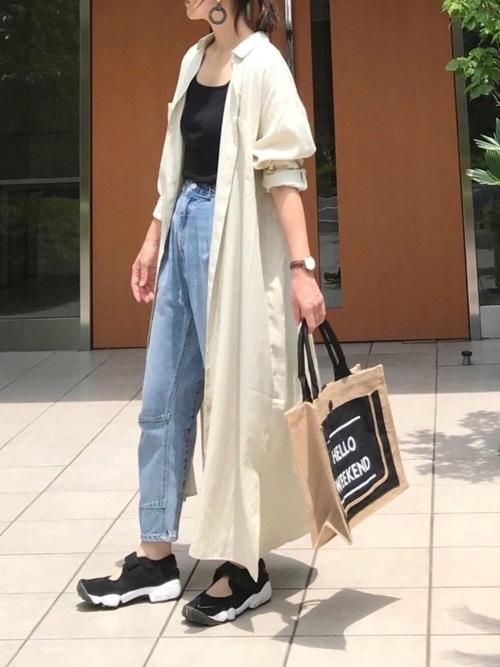 キャンプ用のおしゃれなママの服装8