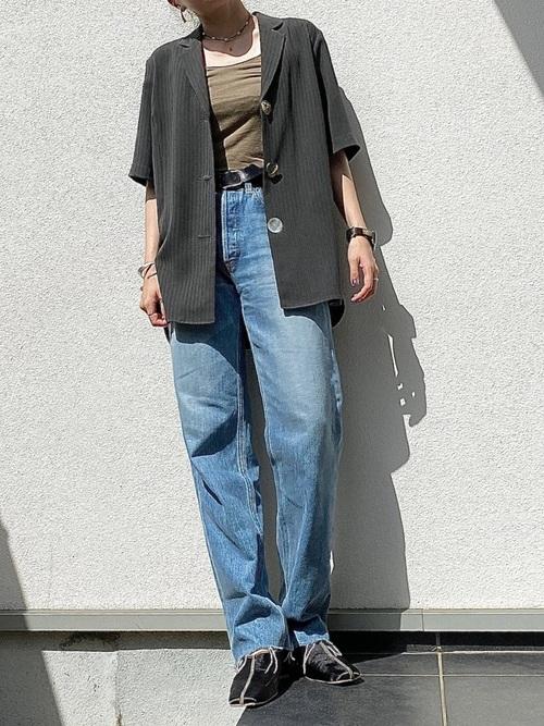 [MAISON SPECIAL] ウールライクシャツジャケット【MAISON SPECIAL/メゾンスペシャル】■セットアップ対応■