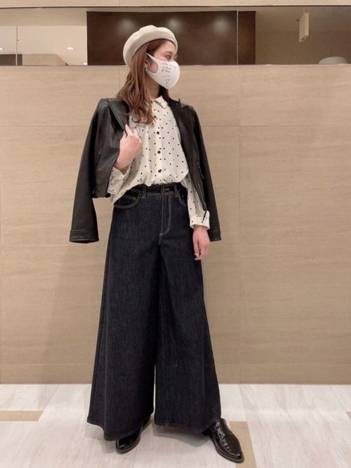 [agnes b.] WQ92 MASK メッセージファッションマスク