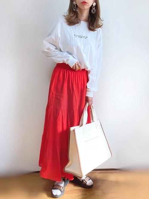 ユニクロロングスカート