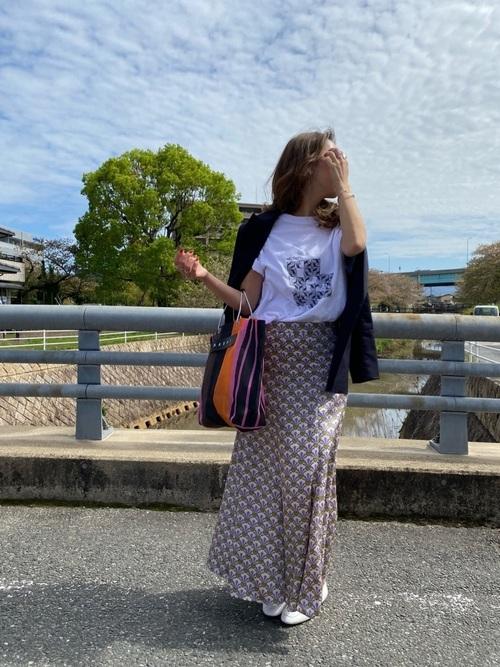 ZARA柄スカート
