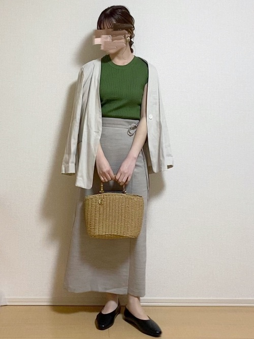 GUラップナロースカート