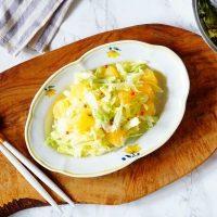 【新連載】春キャベツと柑橘の美肌サラダ!お手軽インナービューティーレシピ
