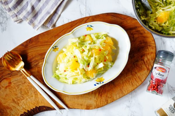 ビタミンC豊富な旬食材のサラダで紫外線対策!