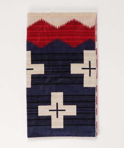 [BEAVER] PENDLETON/ ペンドルトン Oversized Jacquard Towels/タオルブランケット