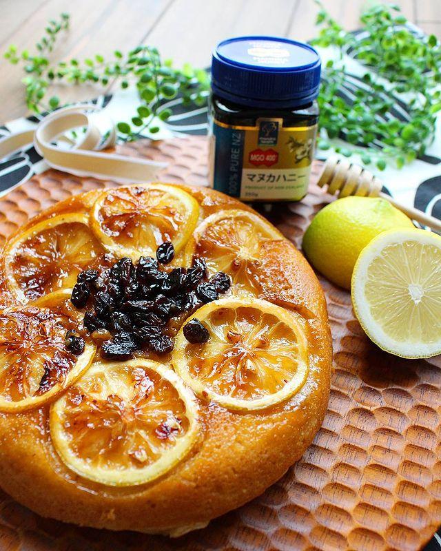 レモンで映える♡はちみつレモンケーキレシピ