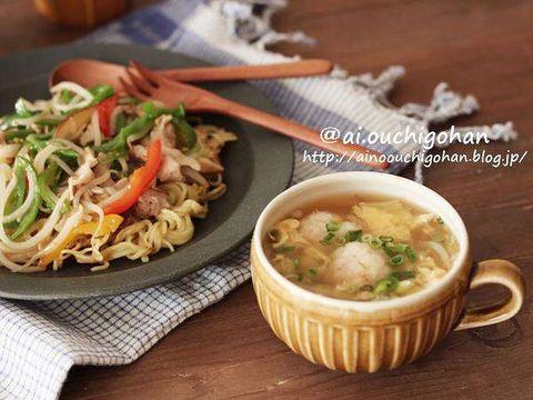 ふんわり団子スープ
