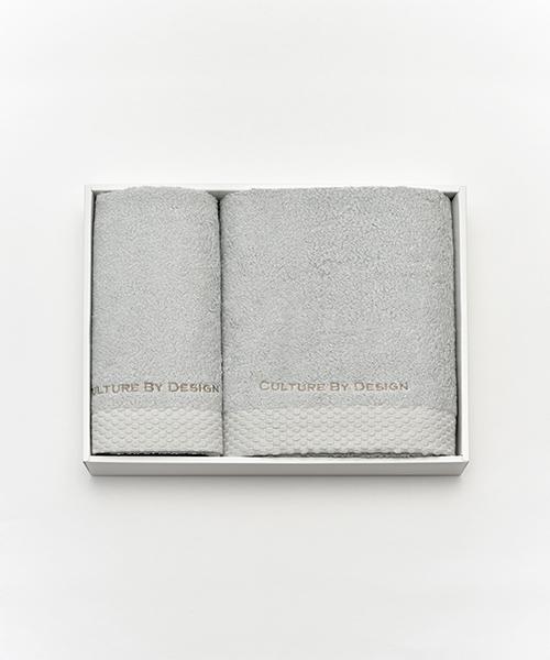 [UNiCASE] COTTON BATH&FACE TOWEL SET/コットンバス&フェイスタオル セット