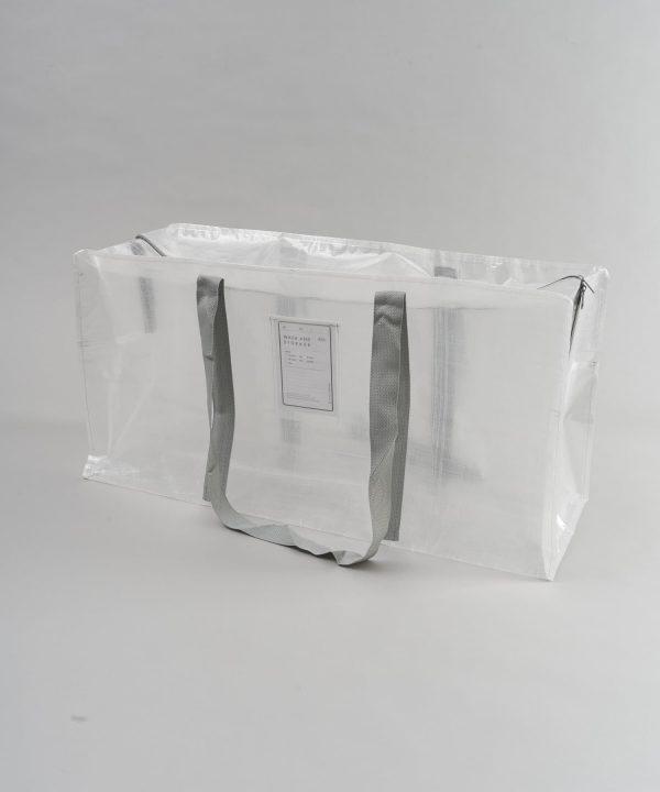 クリアボックスバッグ【LLサイズ】 550円(税込)