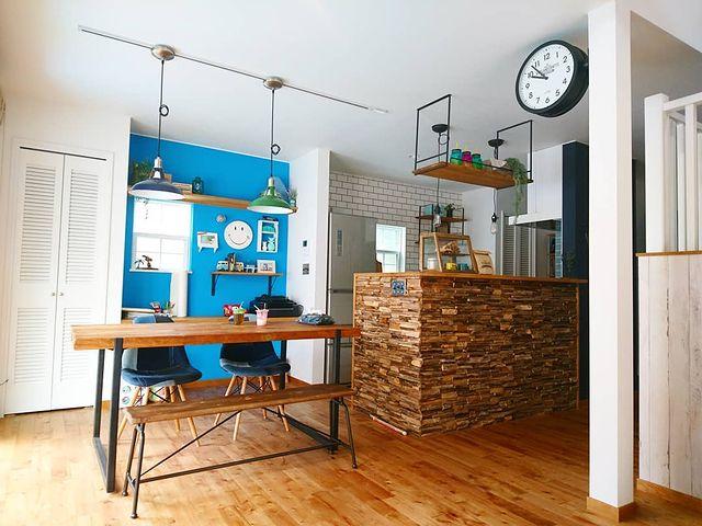 西海岸インテリアな一人暮らしのお部屋実例