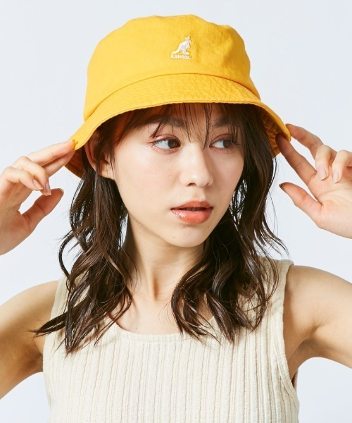 [OVERRIDE] 【KANGOL】Washed Bucket/【カンゴール】ウォッシュド バケット ハット