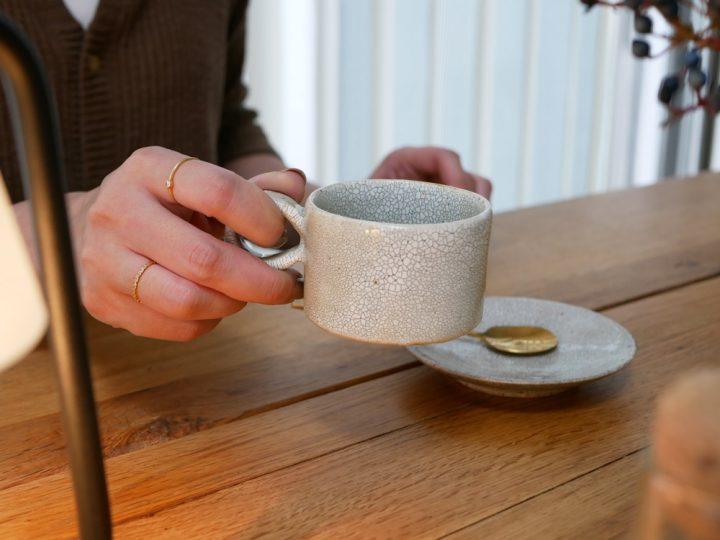 コーヒー椀と丸皿3