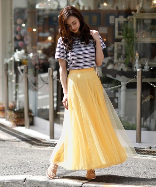 [Doula Doula] チュールロングスカート③