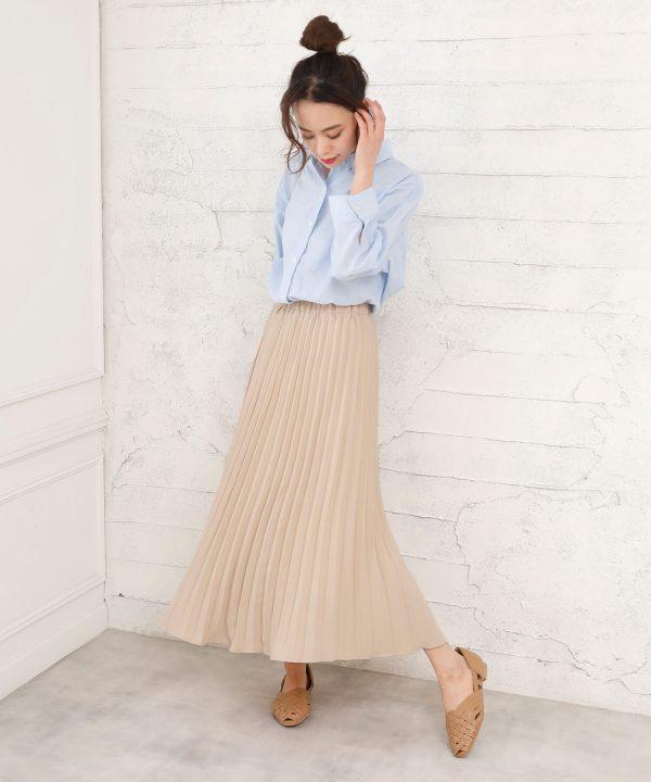 【Doula Doula】ロングプリーツスカート