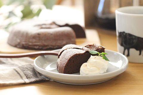 材料2つで簡単!炊飯器ガトーショコラレシピ