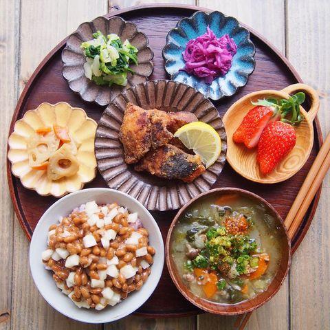 おすすめ主食♡たくあん入り納豆ご飯レシピ