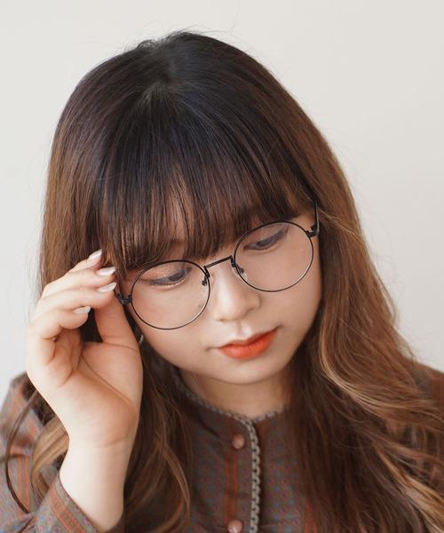 [RiNc] 【 DICTIONARY / ディクショナリー 】 オーバル型 シンプル ダテメガネ