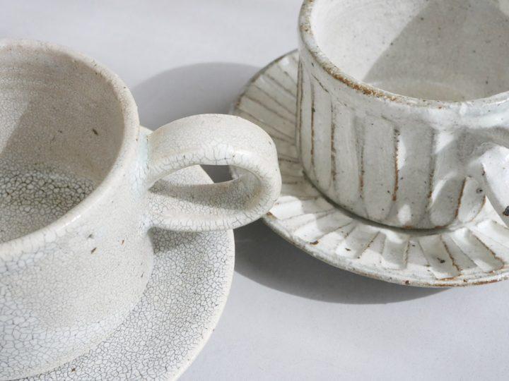 コーヒー椀と丸皿4
