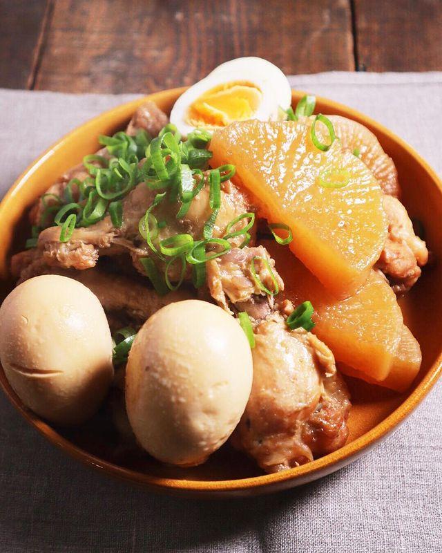 和食人気メニュー!手羽元と大根の煮物レシピ