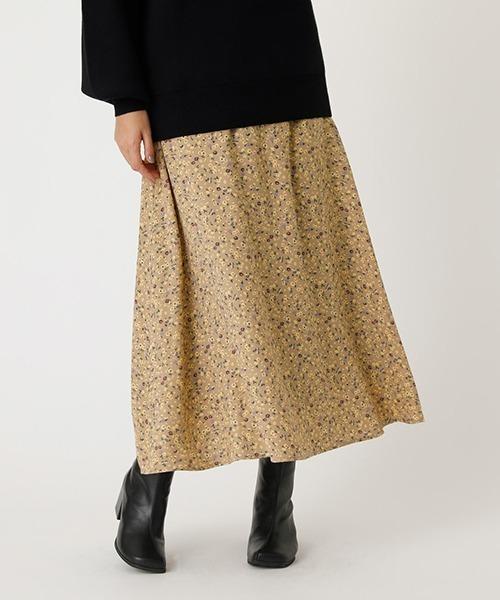 【AZUL BY MOUSSY】フラワーマーメイドスカート