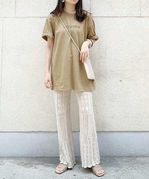 [Lian] オーバーサイズフォトプリントTシャツ