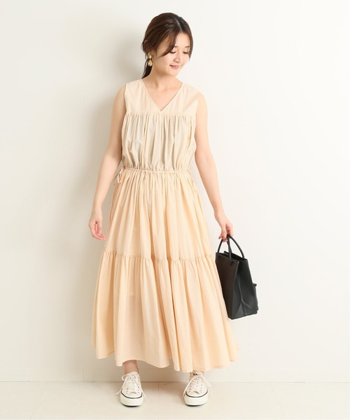 [IENA] 【MISSING YOU ALREADY】COOLING DRESSワンピース◆