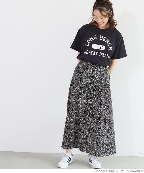 [coca] アソートプリントボックスTシャツ