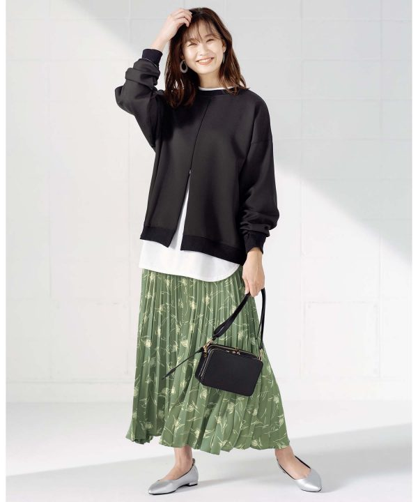 【GeeRA】アコーディオンプリーツスカート