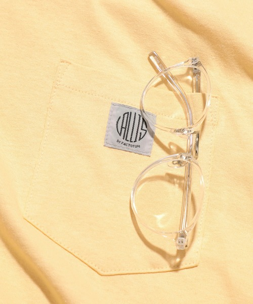 [TOKYO DEPARTMENT STORE] 【VALLIS by FACTOTUM】ボストン型クリアレンズ眼鏡 メガネ