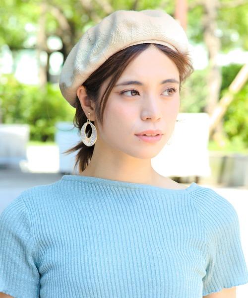 [14+(ICHIYON PLUS)] コットンベレー帽