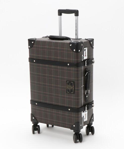 グレンチェックスーツケース